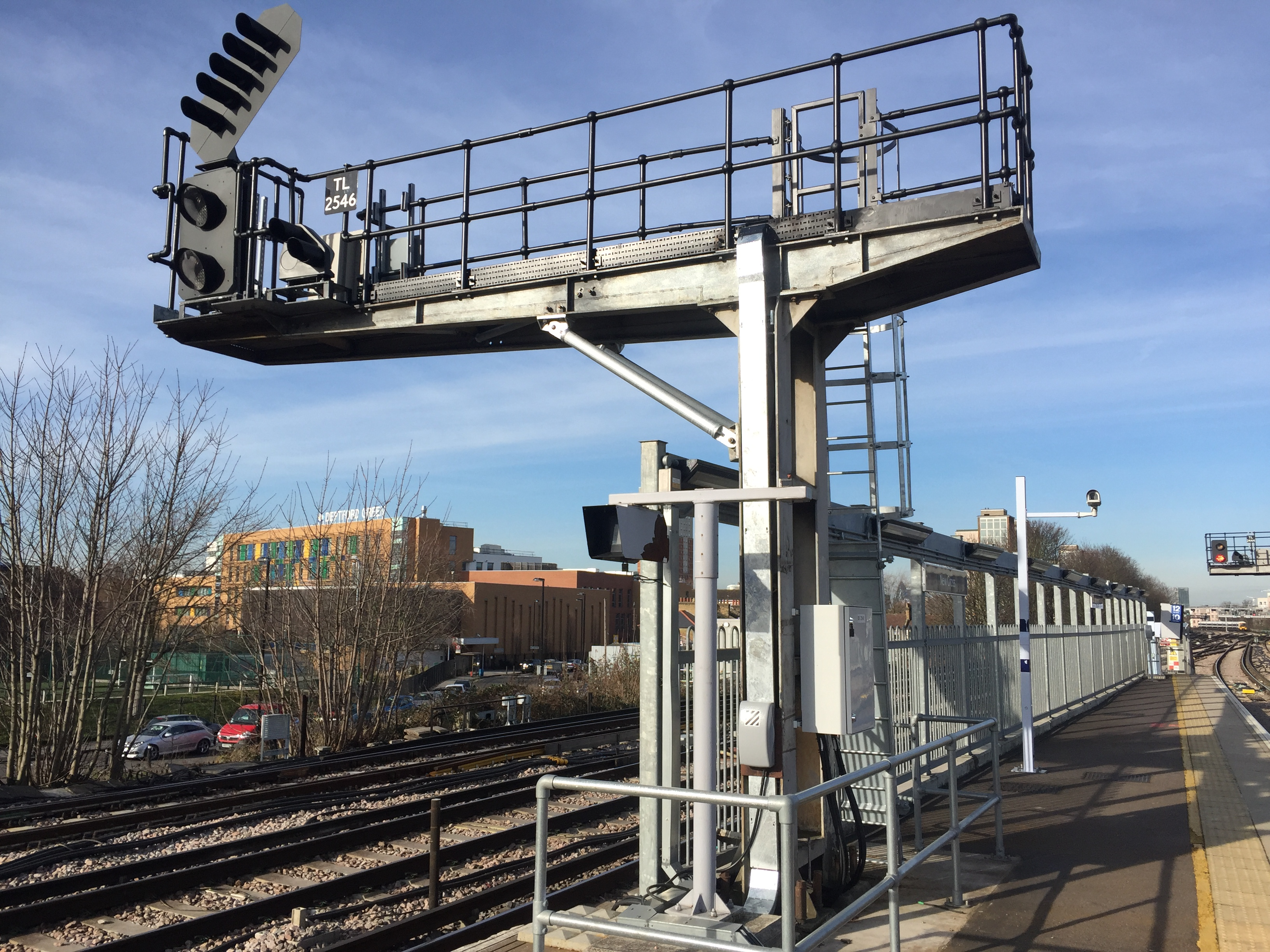 Cantilever refurbishment and new signal platform design. Works Design Managed by PSE Consultants for BB Rail on the KO2 project.
